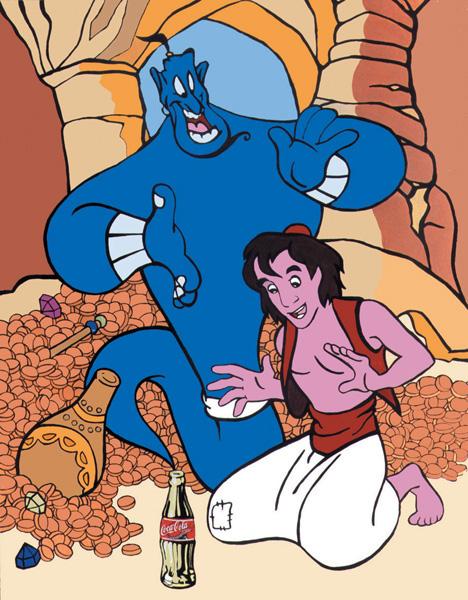 Aladdin - Spirit from a bottle