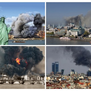 Washington - New York - London - like Gaza